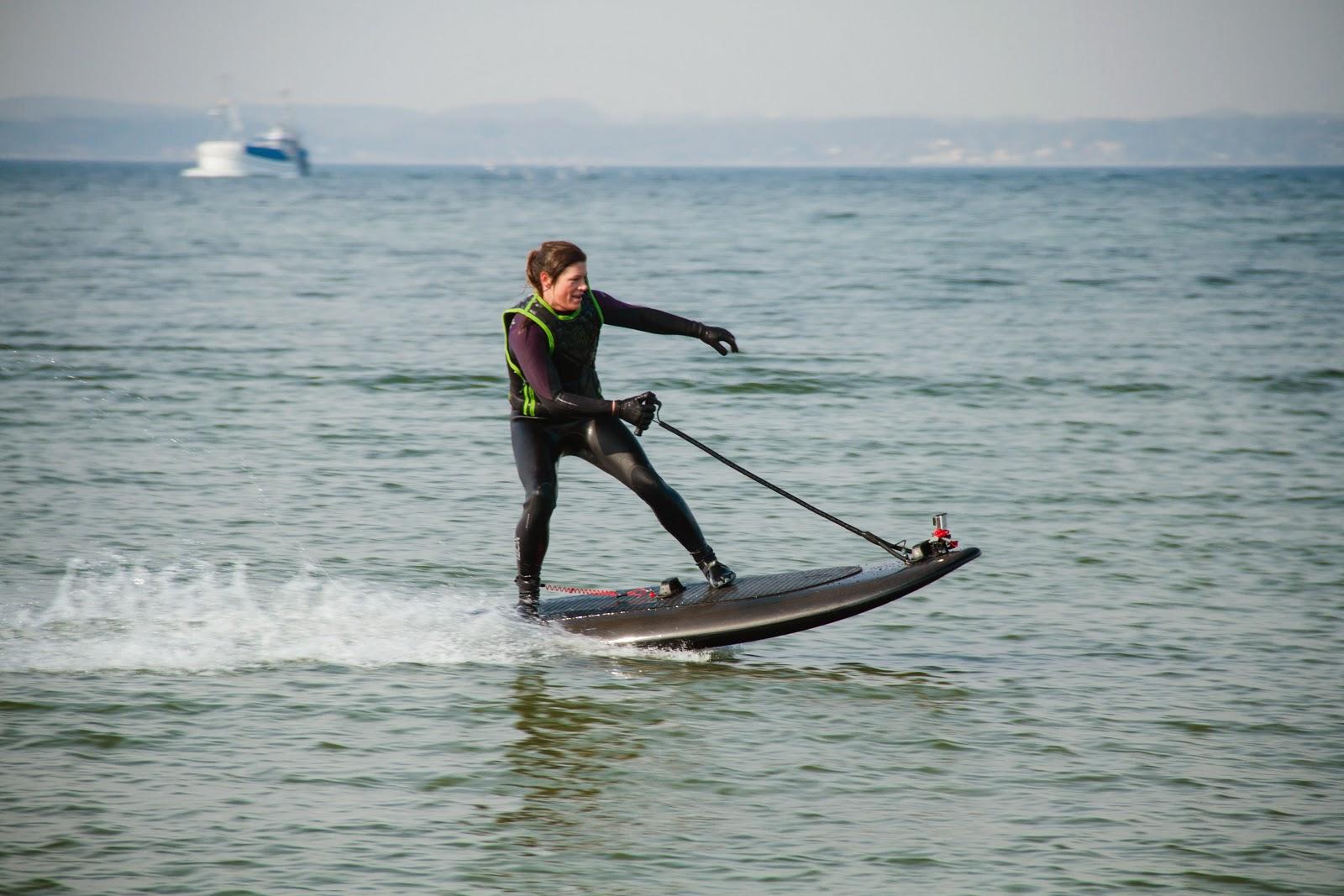 Noleggio e vendita giocattoli di lusso e spettacoli il surf del futuro a idrogetto la tavola - Tavola da surf a motore ...