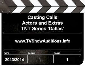 speaking roles and extras for hit TNT series 'Dallas' season three