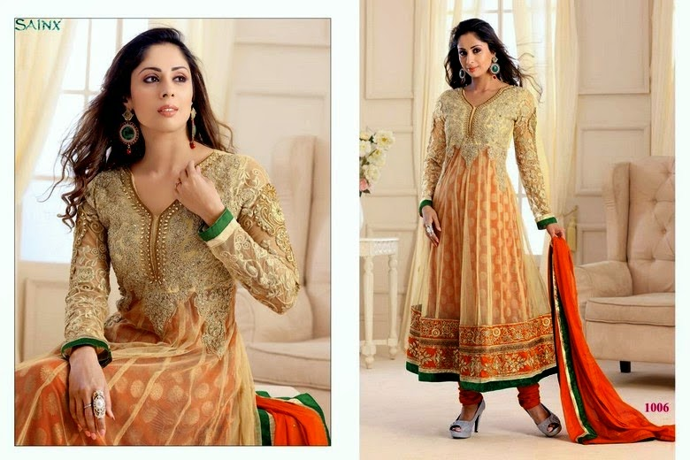 Elegant Indian Anarkali Dresses Collection