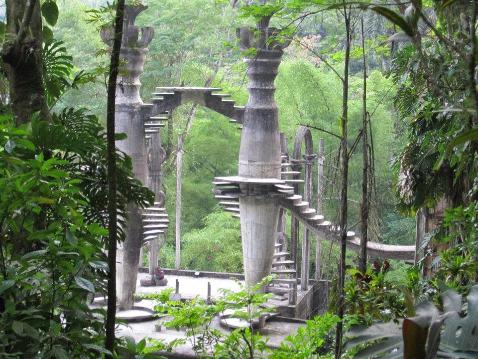 Edward James, Surreal Castle, Xilitla, San Luis Potosi, Mexico