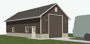 Garage Plan 1152-RV1