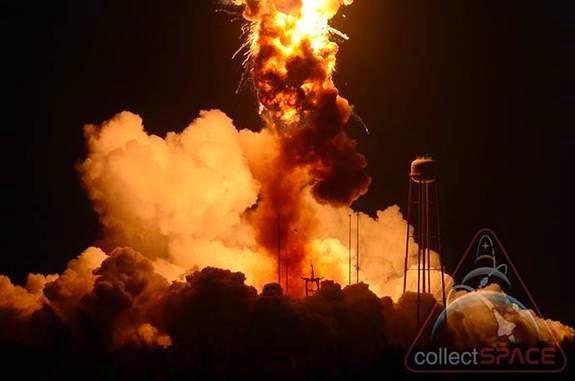 Roket Antares Meledak Saat Peluncuran, Ini Penjelasan NASA