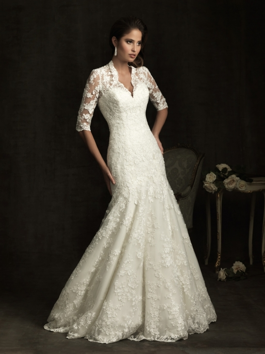 Wedding Dresses  Lace Sleeves : Wedding dress business what should we know about lace