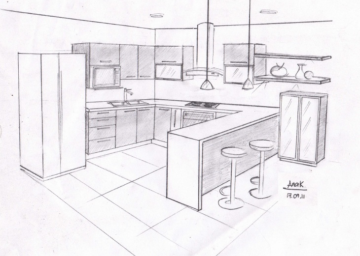 Dak dise o de interiores for Disenos de desayunadores