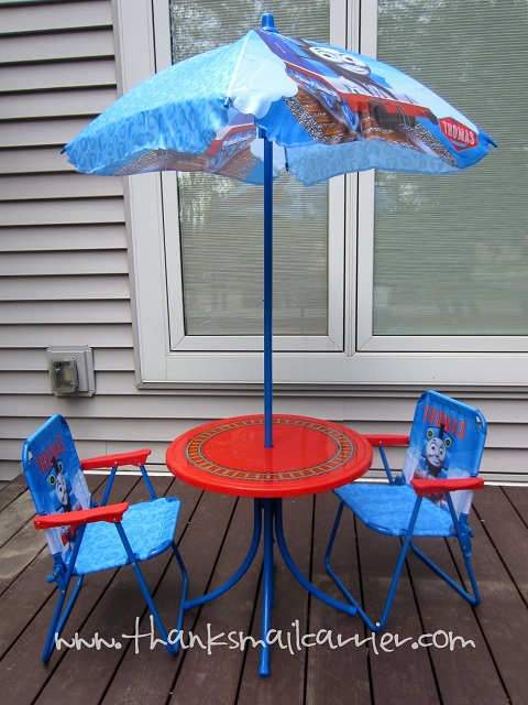 Thomas the Tank Engine Patio Set Review