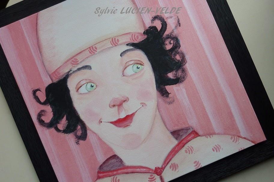 Toile acrylique - Sylvie Lucien-Velde