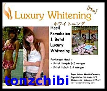 Luxury Whitening Softgel Memutihkan Kulit Seluruh Wajah Dan Tubuh
