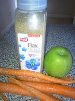 graines de lin dans smoothies