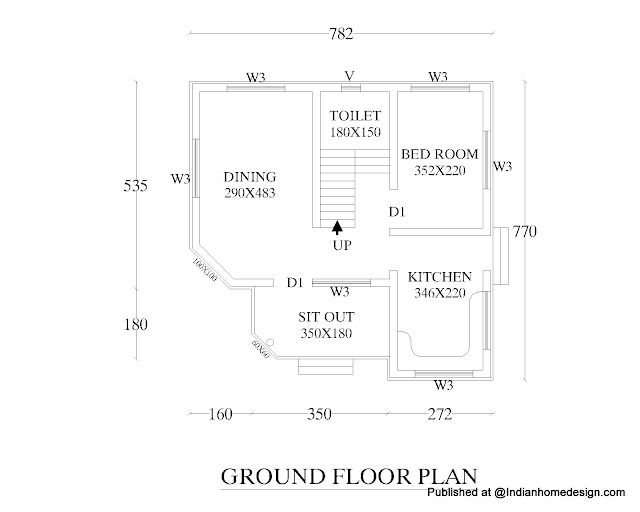 1 Bedroom House Floor Plans
