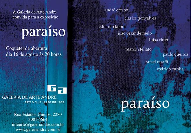 PARAÍSO - Galeria André