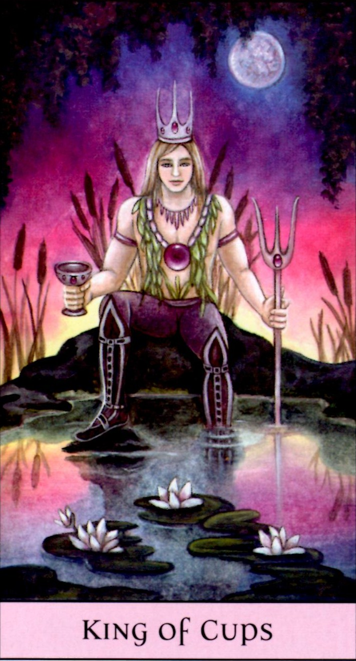 Card Meaning of Nine of Wands @ Lotus Tarot