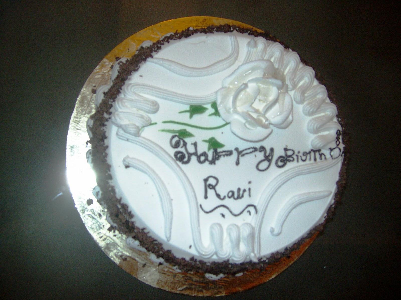 Cake Images Ravi : MEMOIRS: RAVI HAPPY BIRTH DAY