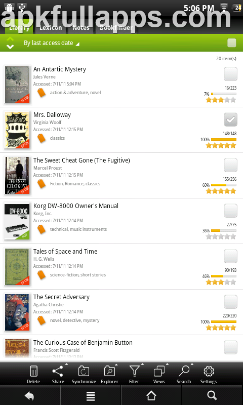 Mantano Ebook Reader Premium v2.3.12