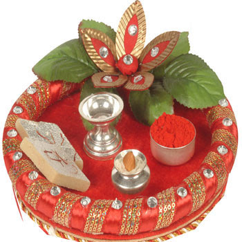 diwali puja thali decoration ideas