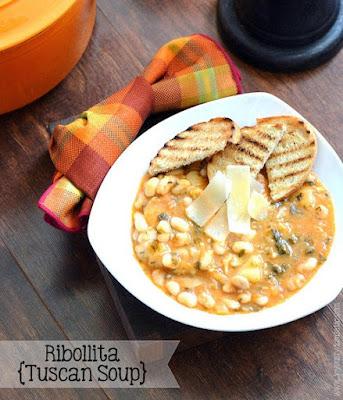 Ribollita {Tuscan Soup}