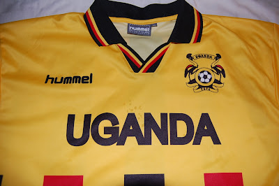 Uganda football shirt