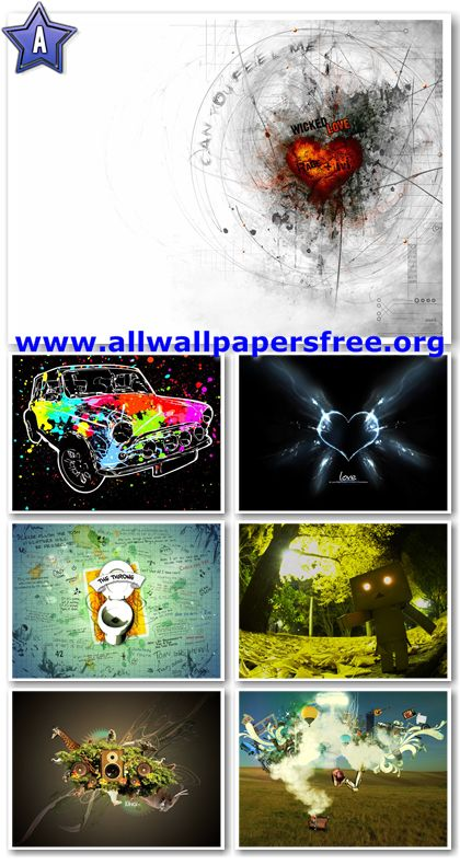 20 Superb Abstract Wallpapers 1600 X 1200 [Set 4]
