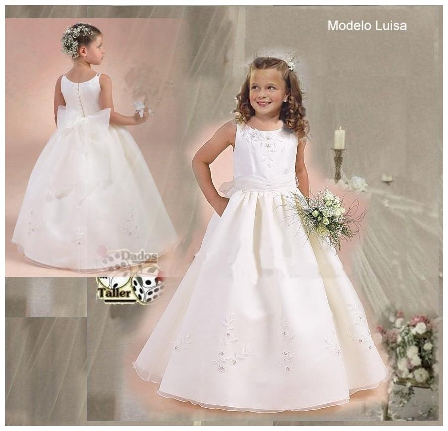 Estilo vestidos de primera comuni 243 n colecci 243 n dados 2012