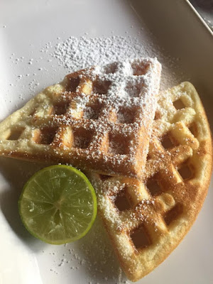 German Style Waffles without Syrup!