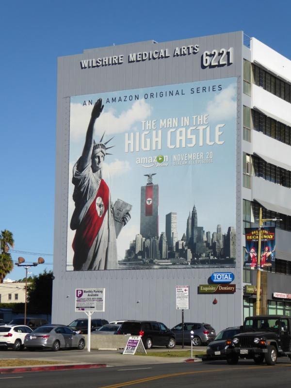 Man in the High Castle series premiere billboard