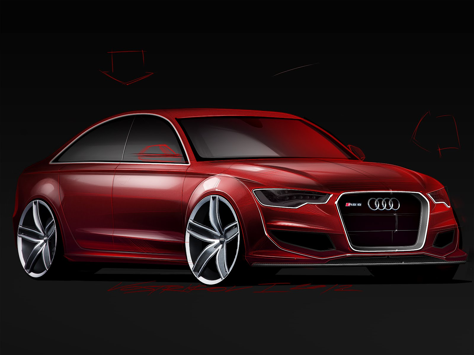 My Vision Of Audi Rs6 Next Gen