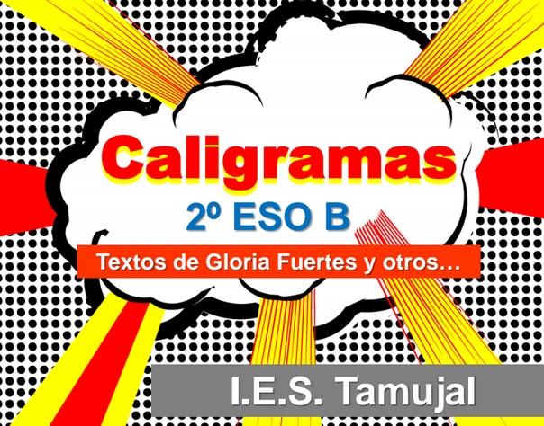 Caligramas de 2º ESO B