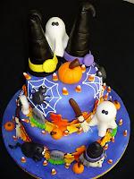 Tortas y Pasteles de Halloween decoración