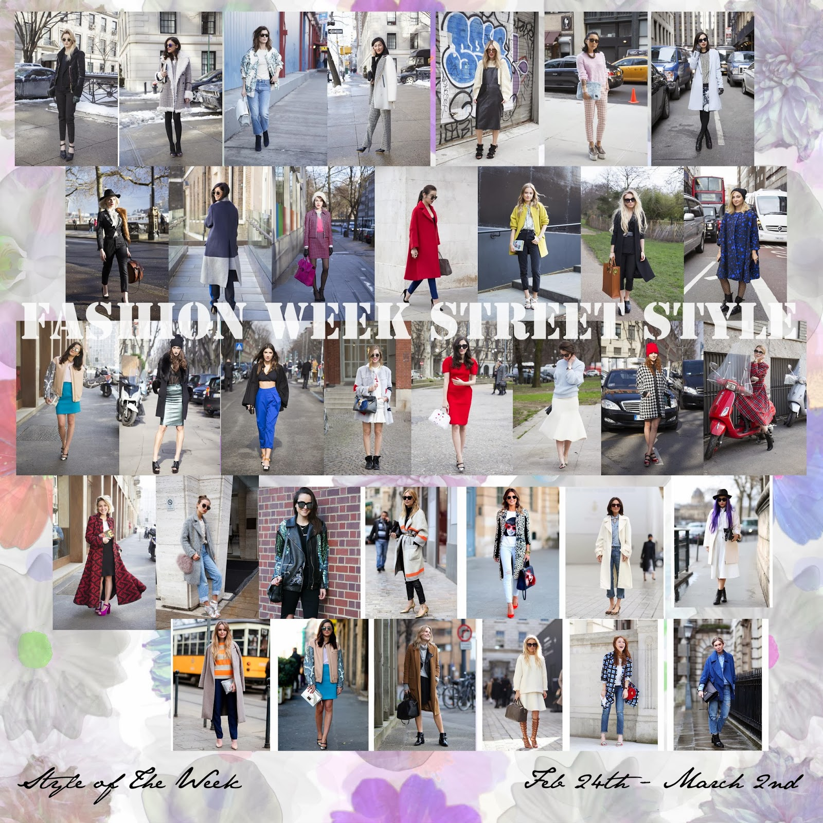 STYLE OF THE WEEK : FASHION WEEK STREET STYLE
