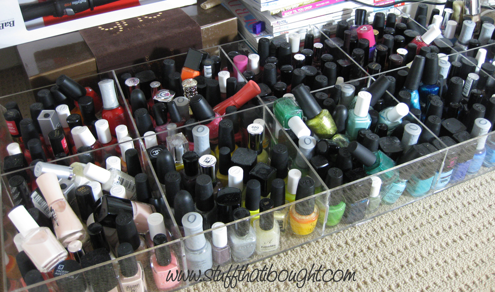 Stuff That I Bought: What to do when you own over 550 nail polishes