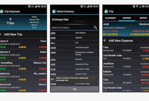 Gastos de Viaje App