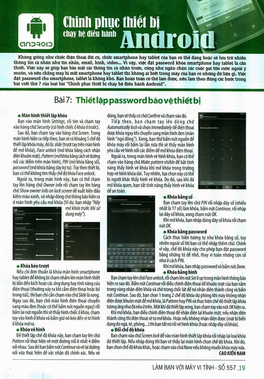 Làm Bạn Với Máy Vi Tính – 557 - tapchicntt.com