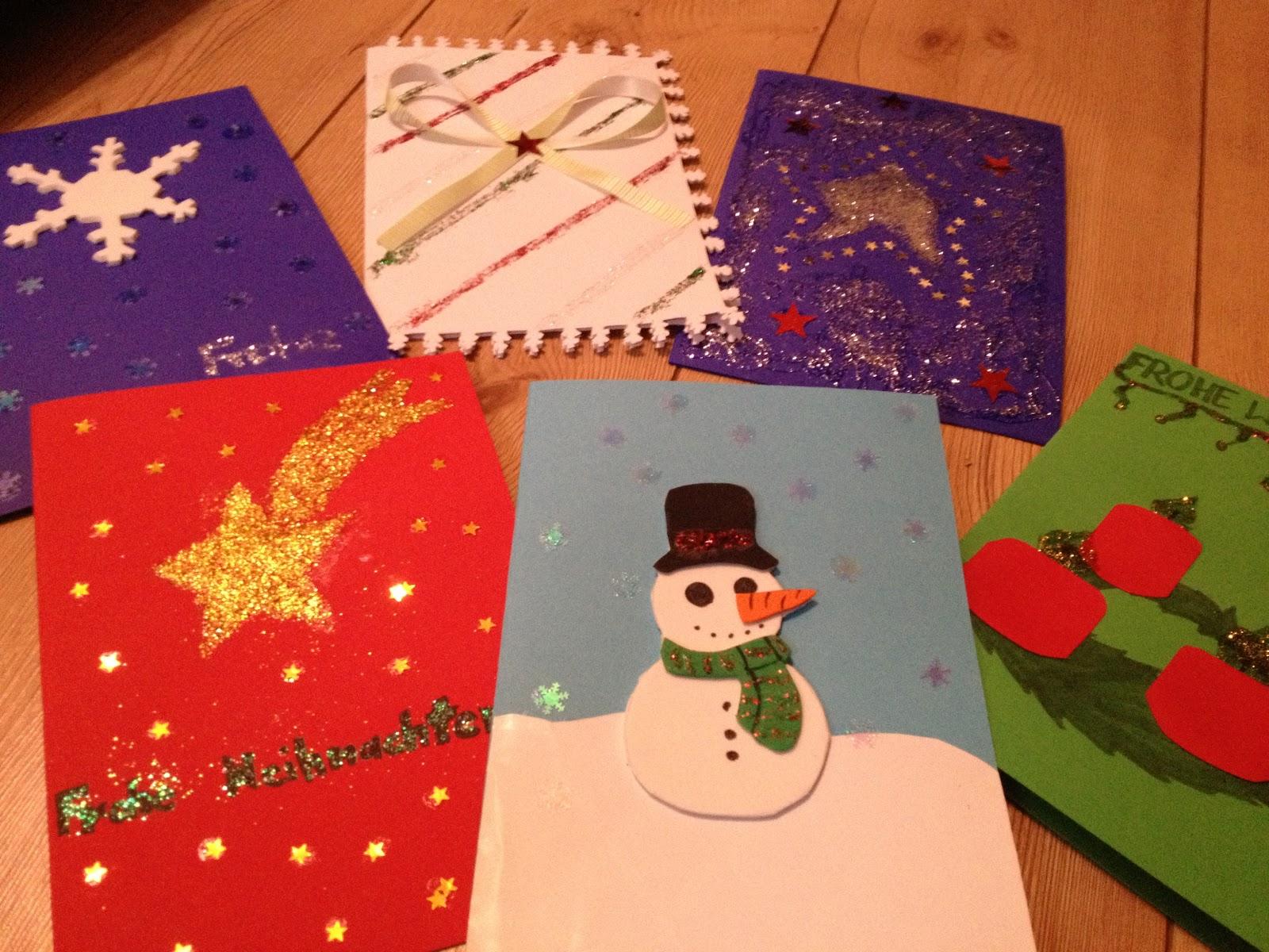 Froschig kreativ weihnachtskarten diy motivation - Weihnachtskarten kreativ ...