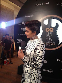 Priyanka Chopra bagged an Award in Excellence at GQ Men Of The Year Awards last night