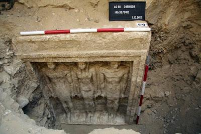 makam seorang puteri Firaun