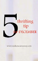 5 Thrifting Tips
