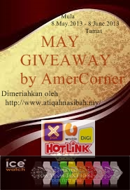 May Giveaway By Amer Corner!