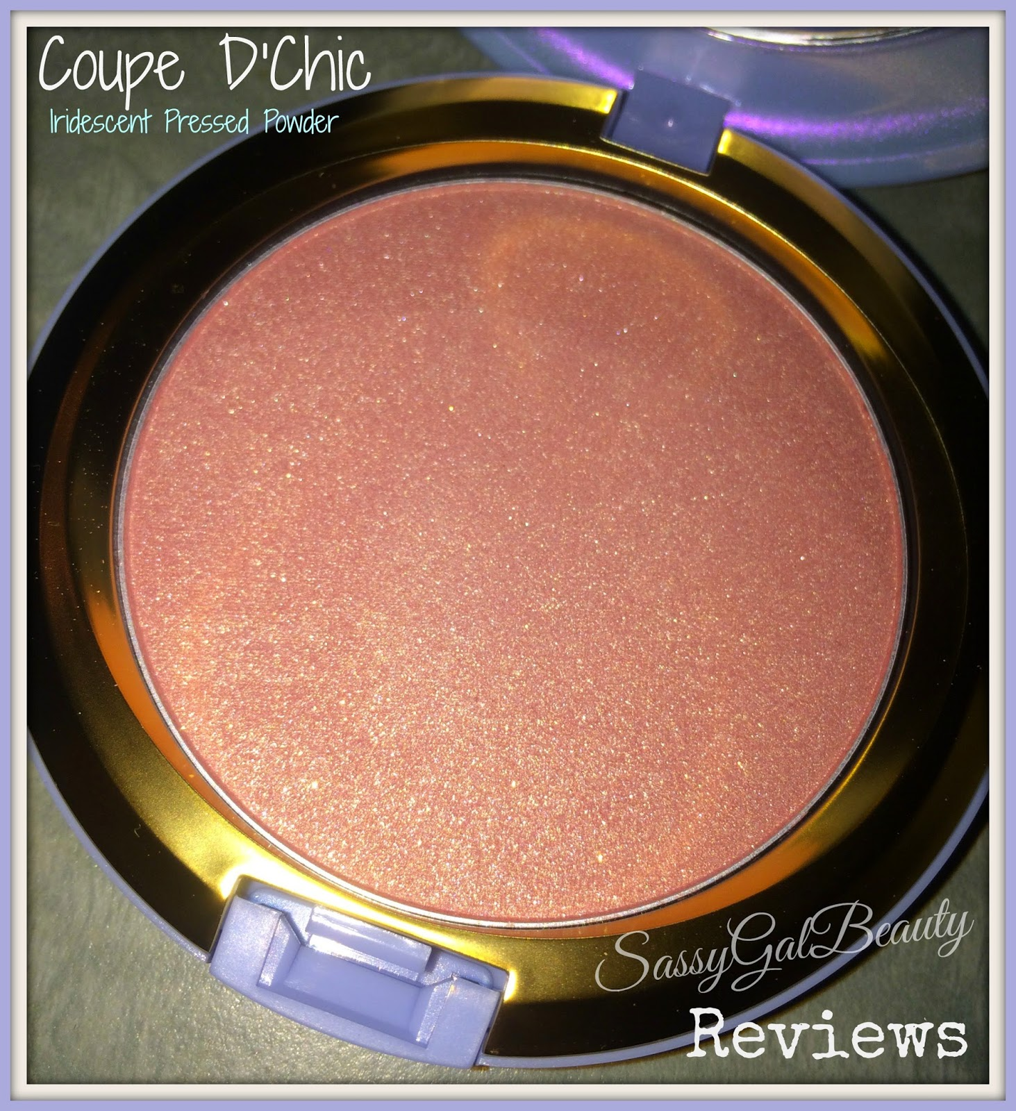 M.A.C. Cinderella Collection: Coupe D'Chic Powder