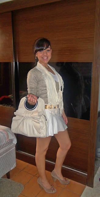 Look dourado Isabella Ferreira
