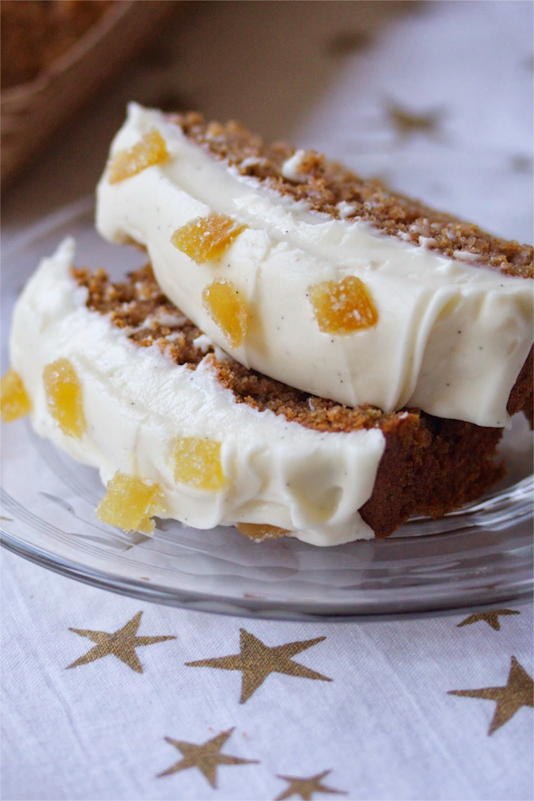 copycat starbucks gingerbread loaf   a cup of mascarpone