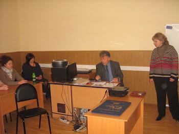 Διάλεξη στο πανεπιστήμιο της Μόσχας, τον Μάρτιο του 2012