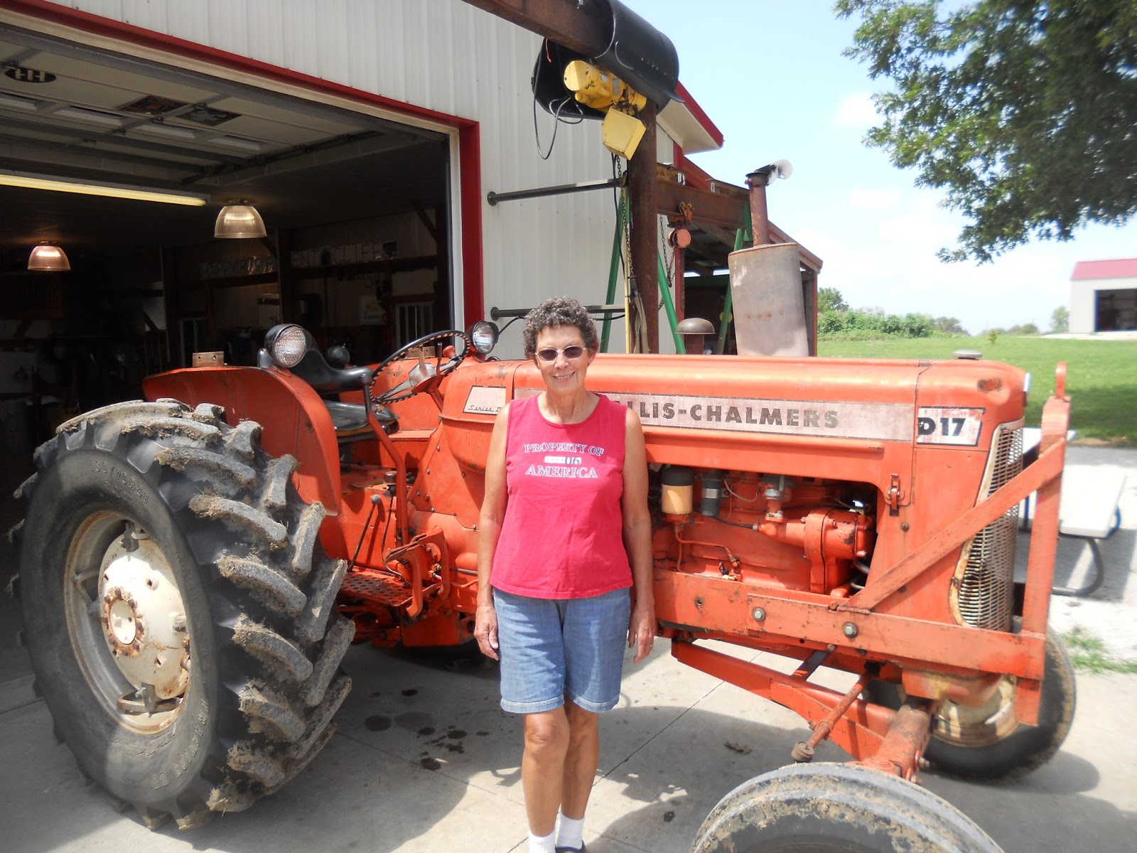 "JUST ME The ""new"" Allis Chalmers is home"
