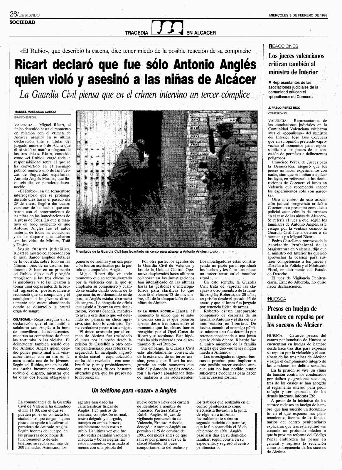El blog de las sombras la bola de cristal de manuel marlasca for Juzgado de catarroja
