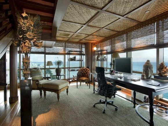 Photo of Thai designed working room