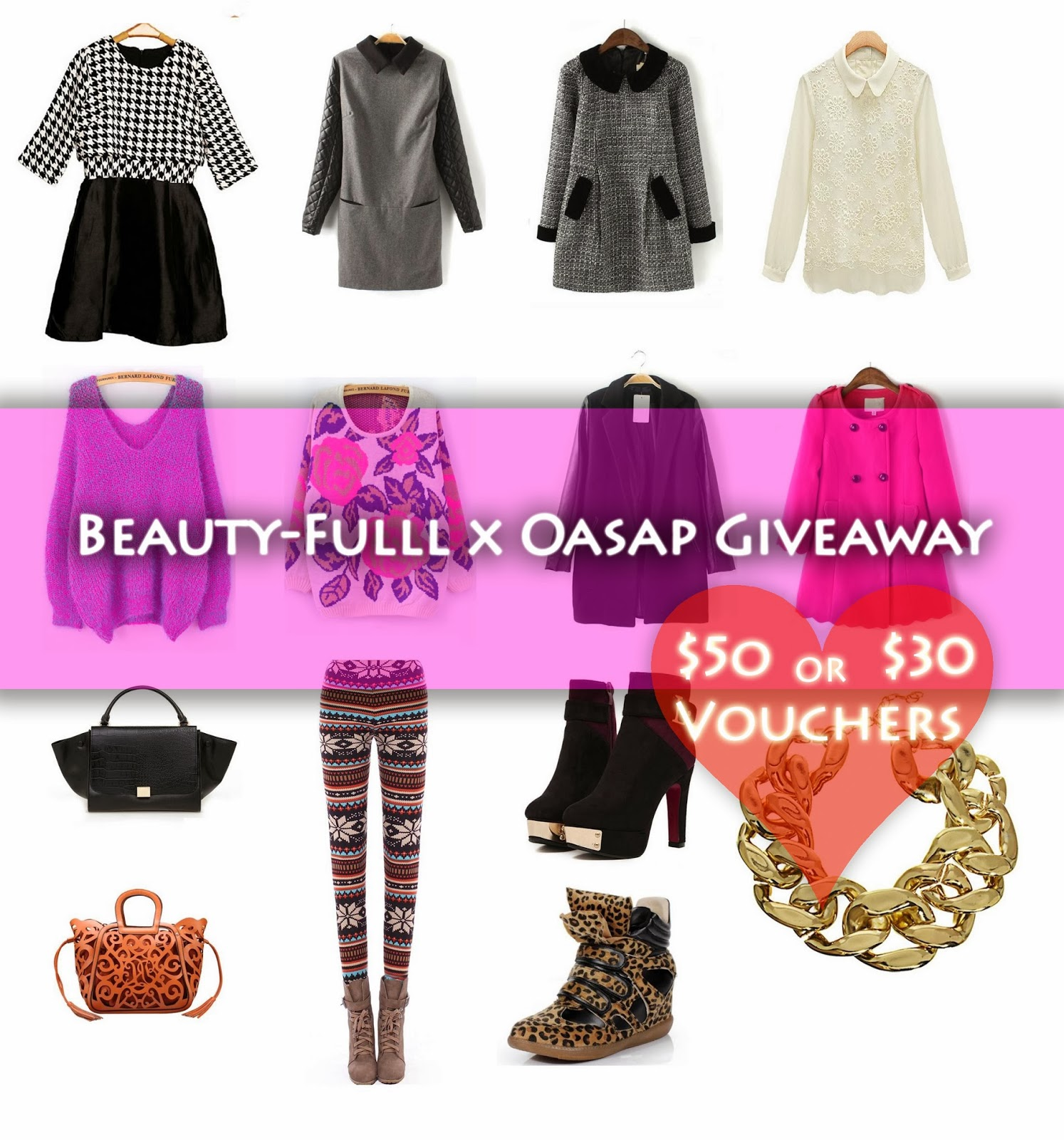 On-Going Oasap Giveaway