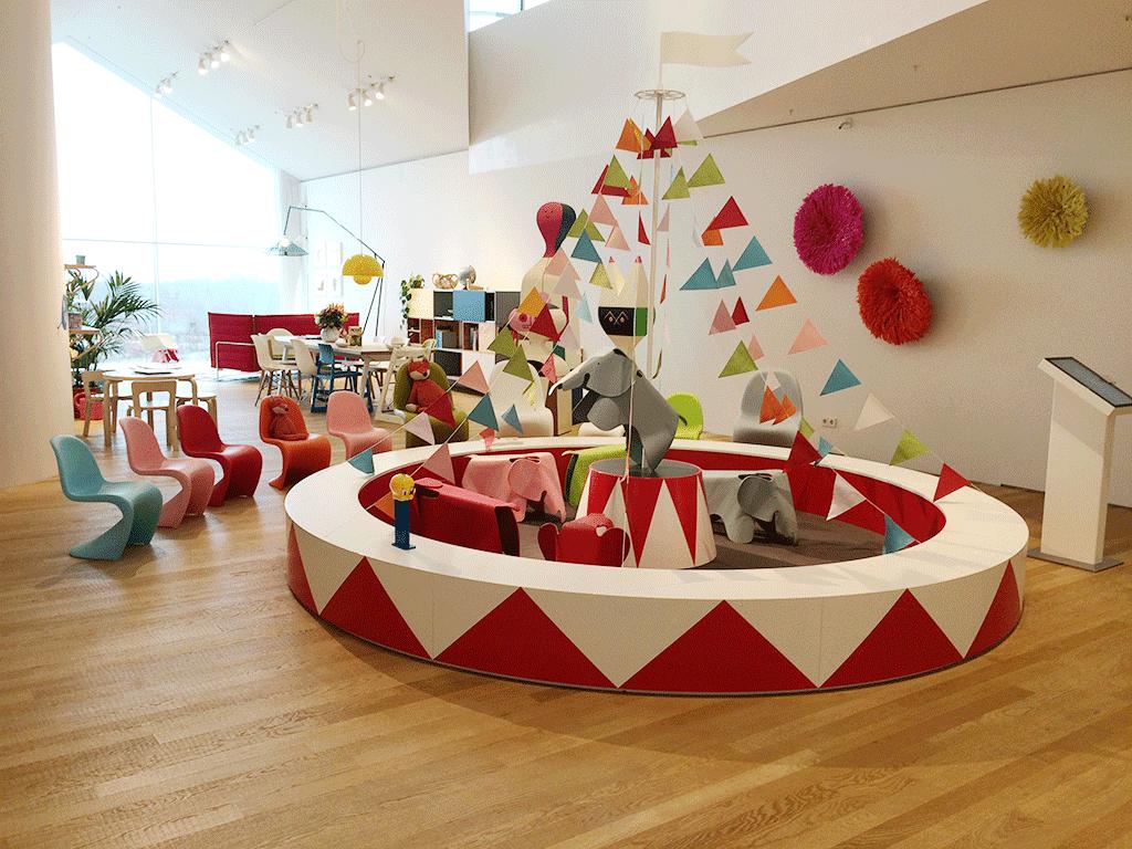 Muebles Vitra para niños