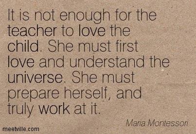 montessori language quotes