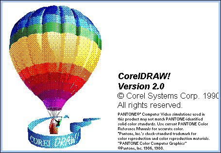 Sejarah CorelDRAW - CorelDRAW Versi 2.0 (1990)