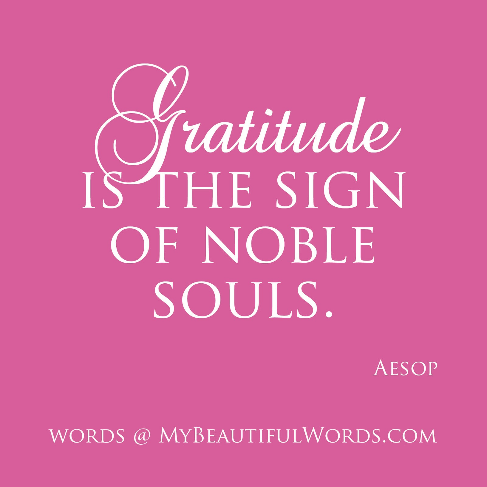 Beautiful Gratitude Quotes