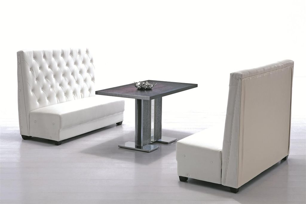 Booth kitchen pic booth dining room tables for Dining room sofa seating