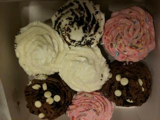 enormous cupcakes